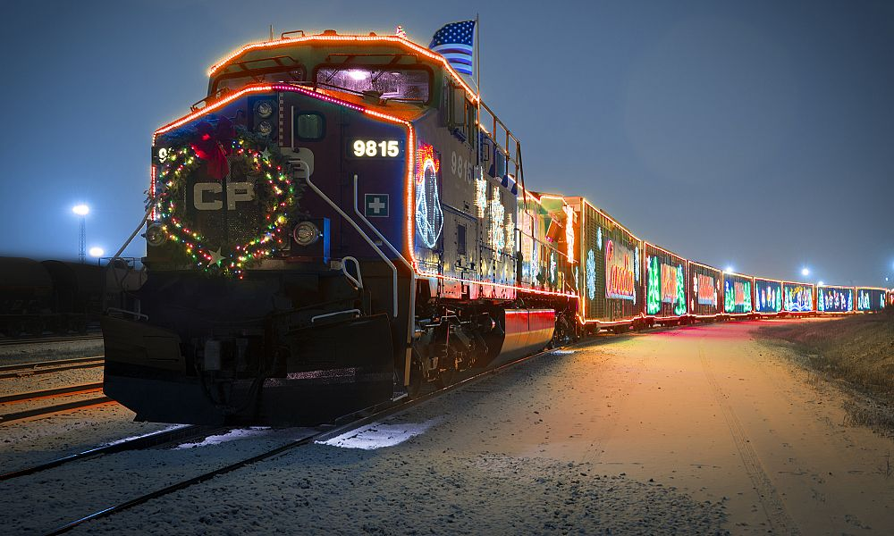 The 21st Annual CP Holiday Train is coming through the Revelstoke and Shuswap area